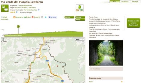 vias verde Plazaola