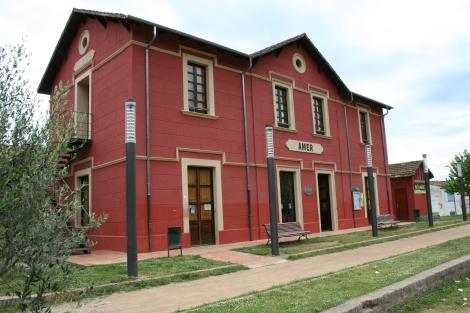 Estación Amer Vías Verdes