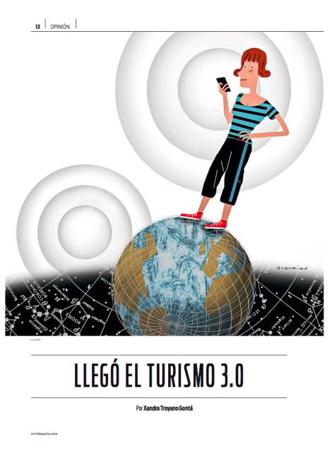 Ilustración de la revista savia
